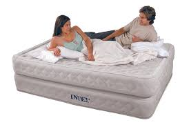 Serta Perfect Sleeper Air Mattress With Headboard by Inflatable Queen Bed Home Beds Decoration