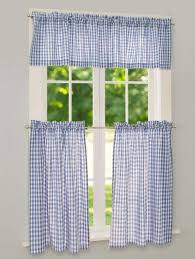 Checkered Flag Window Curtains by Gingham Tier Curtains Checkered Window Panels