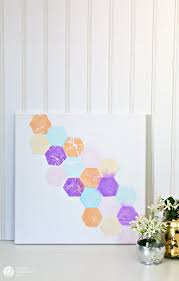 Tissue Paper Color Transfer Wall Art On Canvas
