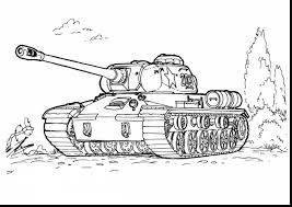 Outstanding Army Tanks Coloring Pages Printable With Soldier And British