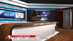 TV Studio Background AE4Free