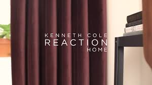 Sound Dampening Curtains Three Types Of Uses by Kenneth Cole Reaction Home Soho Velvet Lined Window Curtain Panel