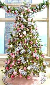 Rose Gold Christmas Tree Decorations Gallery Pink Splendid White With