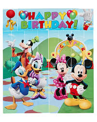 Mickey Mouse Wall Party Decorations, 5pc - Walmart.com Minnie Mouse Room Diy Decor Hlights Along The Way Amazoncom Disneys Mickey First Birthday Highchair High Chair Banner Modern Decoration How To Make A With Free Img_3670 Harlans First Birthday In 2019 Mouse Inspired Party Supplies Sweet Pea Parties Table Balloon Arch Beautiful Decor Piece For Parties Decorating Kit Baby 1st Disney