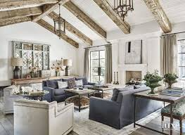 Living Room Design Long Rooms Rustic Decor
