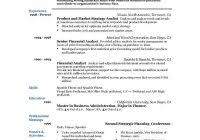 Sample Resume With Experience