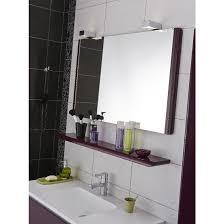 miroir salle de bain avec eclairage et prise spitpod