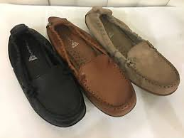 hush puppies ceil black tan taupe leather loafers flat moccasins