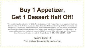 Olive Garden Coupons Printable Coupons In Store & Coupon Codes