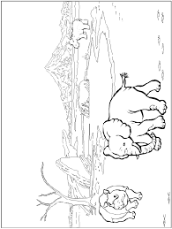 African Animal Coloring Pages 21