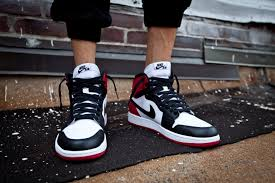 Nike Outlet Nj by Air 1 Retro High Og Black Toe Outlet Restock Locations Sbd