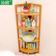 bambus bad boden eckregal badezimmer regal waschbecken hause holz fach regale angebote