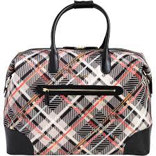 Vera Bradley Bedding Comforters by Vera Bradley Travel Duffel Sofia Plaid Black Shop By Pattern