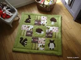 tapis d eveil couture tapis d éveil félicie à