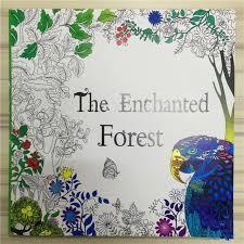 The Enchanted Forest Coloring Book For Adult Kids Mandala Secret Garden Books Antistress Art Quiet Color