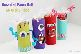 Toilet Paper Roll Crafts Monsters Unleashed