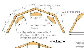 Shed rafter plans jonson making some blog for build real sheds