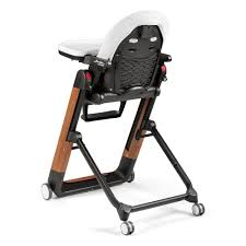 Peg Perego Siesta High Chair Wood Bianco Special Edition
