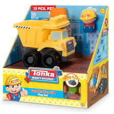 100 Tonka Truck Games Mighty Builders Construction Site Play Set Dump 15