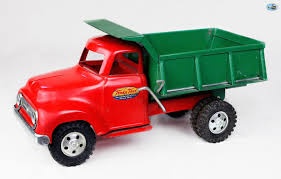 Awesome Original Vintage 1957 Tonka Hubley Ford Dump Truck Toy ...