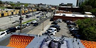 Halloween City Knoxville Tn by Knoxville Dronopod Illustrates Future City Full Of Drones