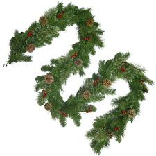 Christmas Trees Unlit 9 Ft by National Tree Company 9 Ft Unlit Cashmere Artificial Garland With