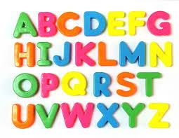 26 Magnetic Letters Full Alphabet A Z 26pc Preschool Educational