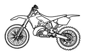 Free Printable Dirt Bike Coloring Pages For Kids 5gzkd