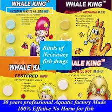EXTERNAL PARSITE KILLER Aquarium Tablets Curing Fishes Disease Illness Parasites Flukes Slime Fish Lice Fresh Salt