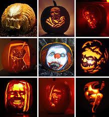 Scariest Pumpkin Carving Patterns by Horror Pumpkin Carving Ideas Photo Album Halloween Ideas