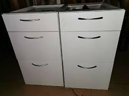 2 x ikea unterschrank küche weiß schubladen eur 55 00