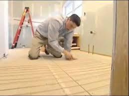 warm tiles installation youtube