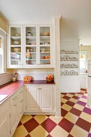 Forbo Flooring For A Traditional Kitchen With Vingage And Retro By Hammer Hand