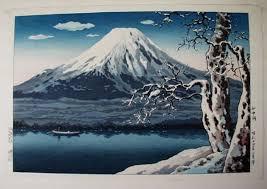 Tsuchiya Koitsu Lake Yamanaka In Winter