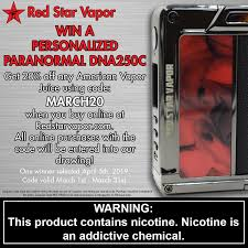 Red Star Vapor - Throughout The Month Of March, Take 20 ... Best Online Vape Store And Shops For 2019 License To Automatic Coupons Promo Codes And Deals Honey Myvapstore Com Coupon Code Science Serum Element Coupon Vapeozilla Aspire Breeze Nxt Pod System Starter Kit Good Discount Vaping Community Shop 1 Eliquids Vapes Vapewild Smok Rpm40 25 Off Black Friday Mt Baker Vapor Reddit Xxl Nutrition