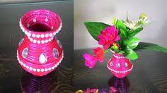 Florerito Decorativo You Tube How To Make Newspaper Flower Vase