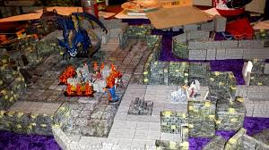 3d Dungeon Tiles Kickstarter by Kickstarter Wielding A Bohemian Ear Spoon