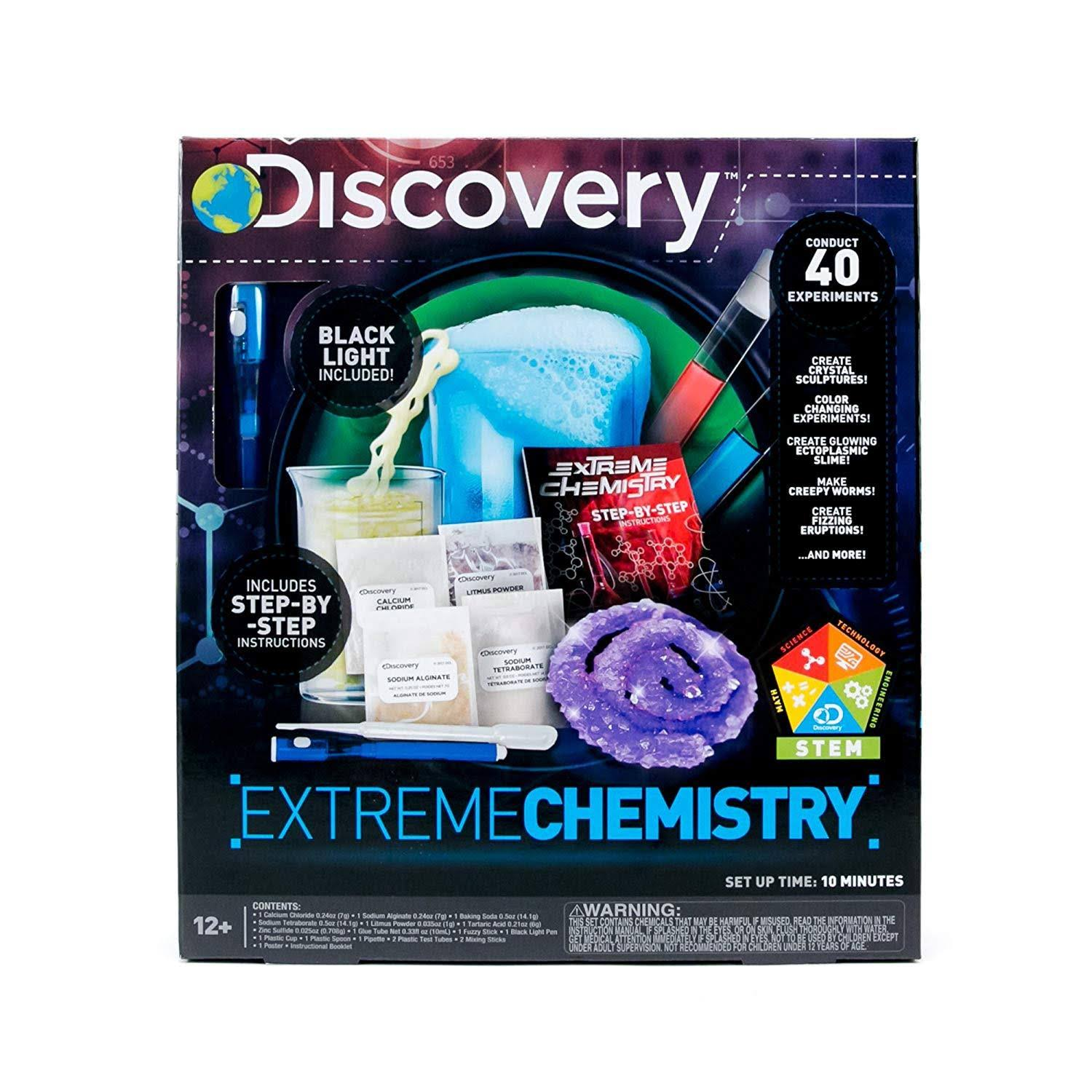 Discovery Extreme Chemistry Kit