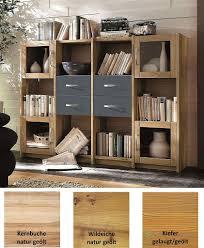 highboard 181x121x33cm massivholz 2farbig geölt grau casade mobila