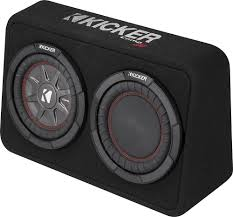 Kicker CompRT 43TCWRT84 Sealed Truck Enclosure With One 8