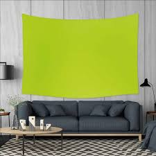 Amazoncom Smallbeefly Lime Green Wall Tapestry Empty