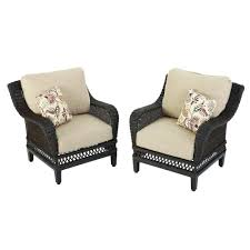 Hampton Bay Patio Chair Replacement Cushions by Reclining Patio Chairs Patio Furniture The Home Depot