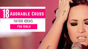 18 Adorable Cross Tattoo Ideas For Girls