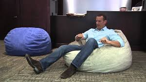 Cordaroy Bean Bag Chair Bed by Cordaroy U0027s Sleepers Beanbag Seating Positions Youtube