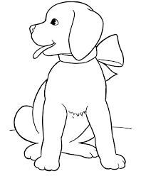 Cute Dog Coloring Pages To Print Breed Printable Sheets Free