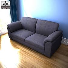 ikea tidafors three seat sofa 3d model hum3d