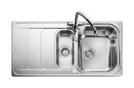 rangemaster houston hs9852 985 x 508mm 1 5 bowl stainless steel