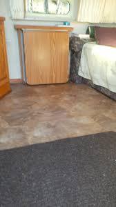installed costco golden select click vinyl floor airstream forums