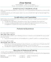 Emergency Room Nurse Resume Example Download By Tablet Desktop Original Size Back To Sample Resumes For Examples Clinic Er Samp