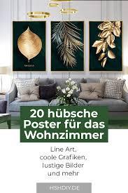 20 schöne poster für das wohnzimmer home sweet home